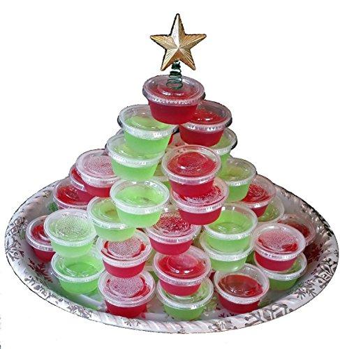 Christmas Tree Made Of Plastic Cups: Jolly Rancher Christmas Tree Jell-o Shot Kit Bundle