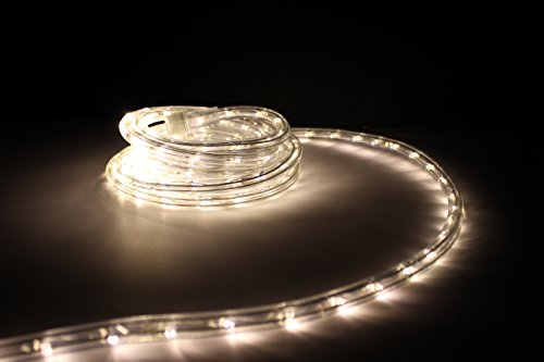 10ft Rope Lights Soft White Led Light Kit 1 0 Ing Christmas Lighting Outdoor